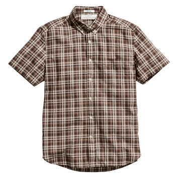 H&M - Short-sleeved Poplin Shirt -