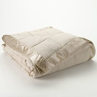 Laura Ashley Lifestyles Solid Down-Alternative Blanket