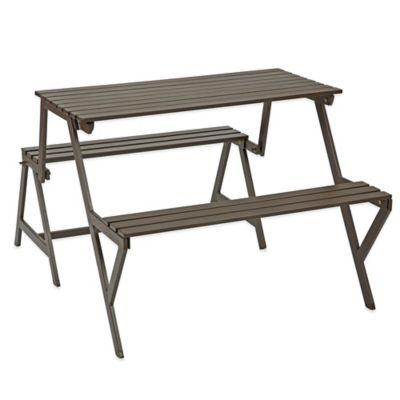 Metal Convertible Picnic Table Bench From Bed Bath Beyond