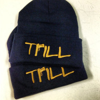 Trill beanie hat Asap rocky vsvp ymcmb comme  by TheTshirtShopLTD