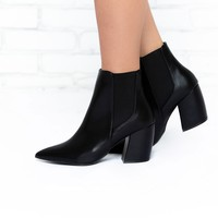 Black Panther Booties in Black