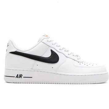 Fashion Online Nike Women Men Running Sport Casual Shoes Sneakers Air Force White