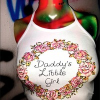 SWEET LORD O'MIGHTY! DDLG FLOWER HALTER