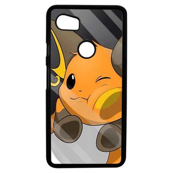 Pokemon Pikachu Evolution Google Pixel 2XL Case
