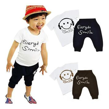 Boys Cotton Clothes Sets