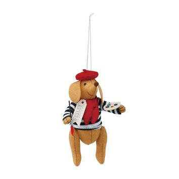 Wesley the Parisian Wiener Dog Theater Ornament by Silvestri