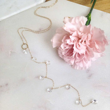 Lorna Lariat Necklace