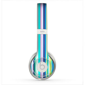 The Vibrant Colored Stripes Pattern V3 Skin for the Beats by Dre Solo 2 Headphones
