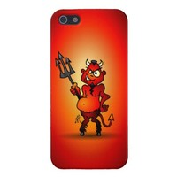 Fat red devil covers for iPhone 5