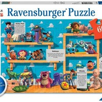 Disney Pixar - On the Toy Shelf - 60 Piece Jigsaw Puzzle