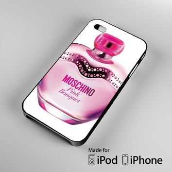 Moschino Perfume Pink Bouquet A0823 iPhone 4 4S 5 5S 5C 6, iPod Touch 4 5 Cases