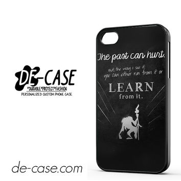 Rafiki Lion King Quote DEAL-9106 Apple Phonecase Cover For Iphone 4 / Iphone 4S