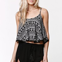 LA Hearts Bobble Trim Cropped Cami at PacSun.com