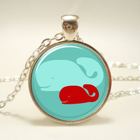 Mothers Day Gift Idea Gifts For Mom Mom And Baby Whale by rainnua