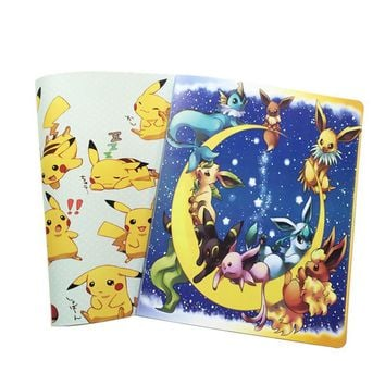 hot Collection Albums  cards Album Book List playing cards toys Novelty gift Photo AlbumKawaii Pokemon go  AT_89_9