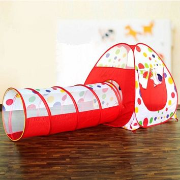 Pop Up Playhouse Tunnel and Tent