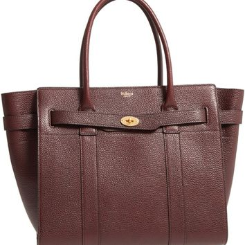 Mulberry Large Bayswater Leather Tote | Nordstrom