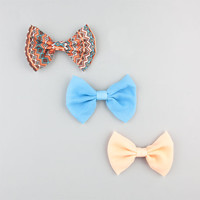 Full Tilt 3 Piece Bows Turquoise Combo One Size For Women 24232925901