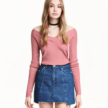 H&M Short Denim Skirt $29.99