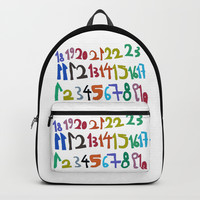 NUMBERS Backpacks by Azima