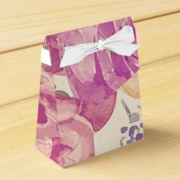Colorful Garden Roses Favor Box