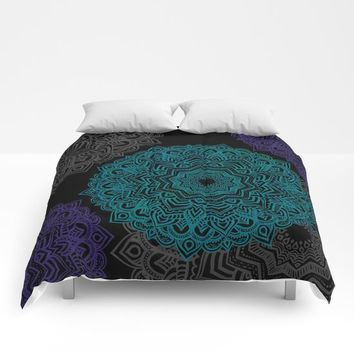 My Spirit Mandhala | Secret Geometry Comforters by Azima