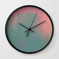 crush on you Wall Clock by duckyb