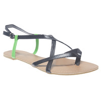 Pop Color Strappy Sandals