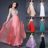 Summer Stylish Spaghetti Strap Prom Dress [10972829007]