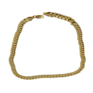 Gold 18K Thick Necklace.  Weight 68.1 Grams of Pure Gold.
