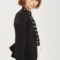 Peplum Fitted Jacket | Topshop