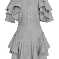 Hounds tiered ruffle mini dress | Moda Operandi