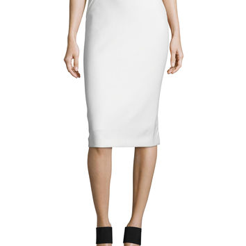 Harla Midi Pencil Skirt, Size: