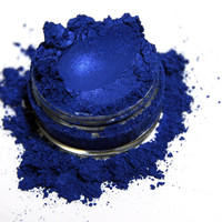 Spring Sale - 35% Off - Shimmery Sapphire Blue Eyeshadow . SUPERNOVA Mineral Eye Shadow / Eye Liner . Blue Shimmer Eye Shadow . 10 gram Jar