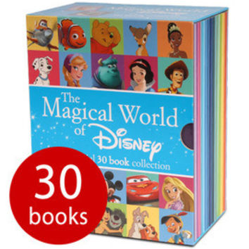 The Magical World of Disney Collection - 30 Book Slipcase