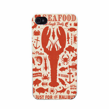 Lobster Bake Case for iPhone 4, 5, 6, 6s Plus Fun