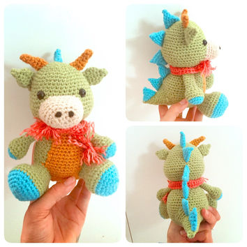 Dragon Crochet Doll Amigurumi