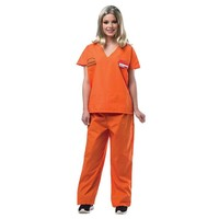 Orange is the New Black Prisoner Jump Suit Costume - Adult