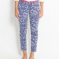 Paddle Printed Ankle Jeans