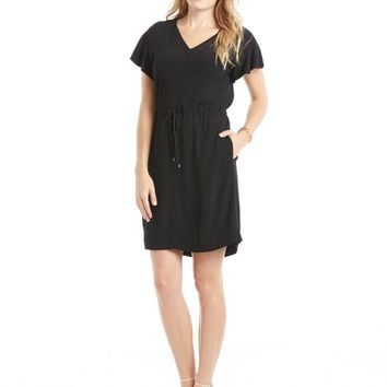 Rebecca Taylor Crepe V-Neck Dress