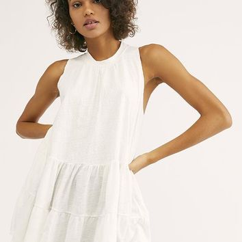 Free People - White Right On Time Tunic