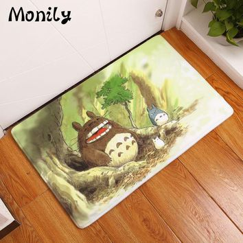 Autumn Fall welcome door mat doormat Monily Waterproof Anti-Slip  Lovely Cartoon Animals Cat Carpets Bedroom Rugs Decorative Stair Mats Home Decor Crafts AT_76_7