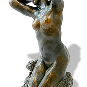 Toilette De Venus Statue (The Bather) by Auguste Rodin 5.25H - RO04