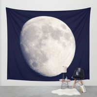 The Moon Wall Tapestry by Doucette Designs | Society6