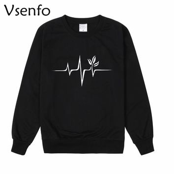 Vegan Clothing Plants Are Friends Vegetarian Sweatshir Men Women Casual Funny Hoodie Tracksuit Sweat Femme Womens Hoodies Tops