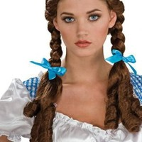 Wizard of OZ Dorothy Gale Synthetic Adult Costume Wig