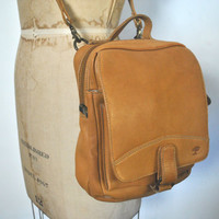 Honey Brown Satchel / Saddle Leather Messenger