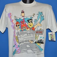 90s Flintstones Welcome to Hollyrock Deadstock t-shirt Large