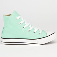 Converse Chuck Taylor All Star Hi Girls Shoes Peppermint  In Sizes