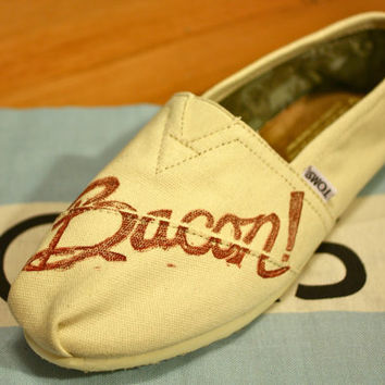 Bacon TOMS Shoes
